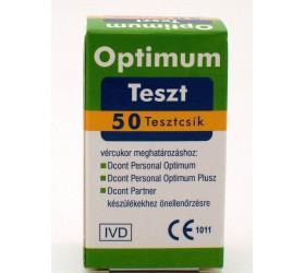 D-Cont Optimum tesztcsík 50db/doboz