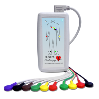 EC-12R/S 12 csatornás nyugalmi és terheléses EKG rendszer
