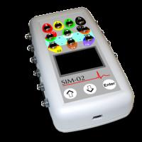 SIM-02 többfunkciós EKG szimulátor
