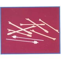 Ayre kenetvevő fa spatula, Kutyacsont - 100db/doboz
