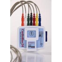 CardioBlue24 3 csatornás, 24 órás holter EKG (teljes szett)