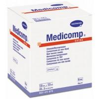 Medicomp Extra sebfedőlap 10x10 (25x2db/doboz) 6 rétegű steril