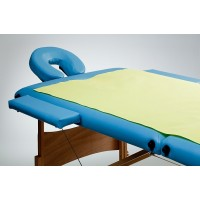 Papír fólia lepedő (2-1) 3 rétegű vízhatlan kék 200x77 40db/doboz