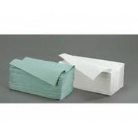 Papír kéztörlő hajtogatott / natúr ECO 200lap/cs.