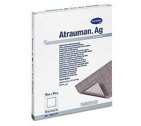 Atrauman Ag steril sebfedőlap 10x20 (10db/csomag)