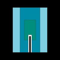 Sliccelt lepedő - ragasztós szélű 200x260cm