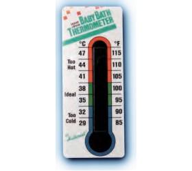 Fürdőhőmérő folyadékkristályos (baby bath)
