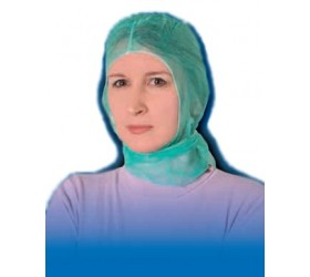 Pilótasapka (kötős-nem szőtt textil-zöld) 100db/csomag